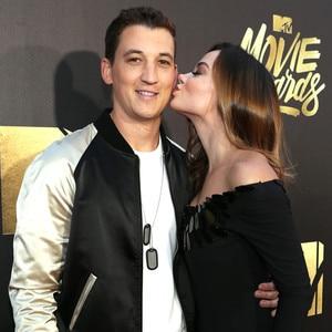 Miles Teller, Keleigh Sperry, MTV Movie Awards 2016