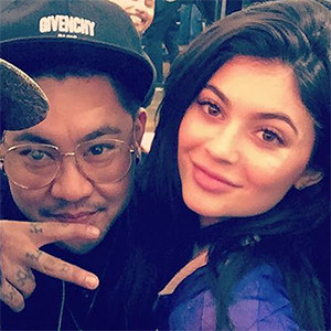Kylie Jenner, NYC tattoo artist Jonathan