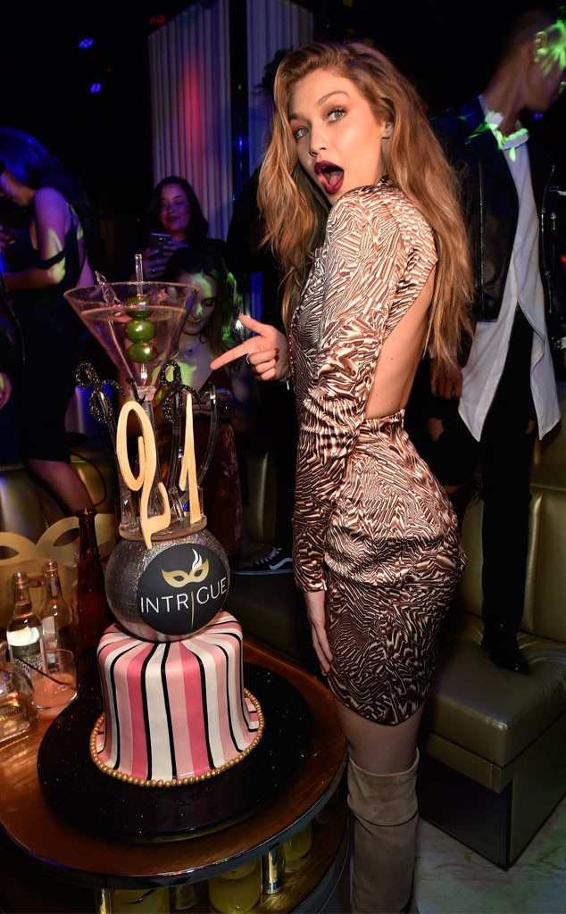 Gigi Hadid Stuns In Sexy Boots At Birthday Party In Las