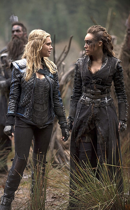 The 100, Eliza Taylor, Alycia Debnam Carey
