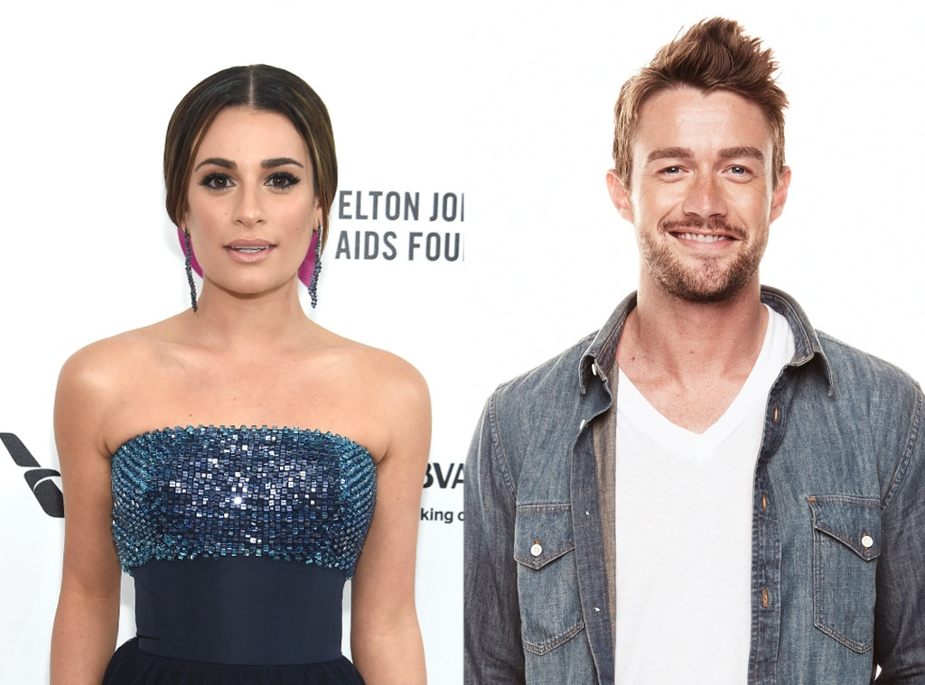 Lea Michele, Robert Buckley