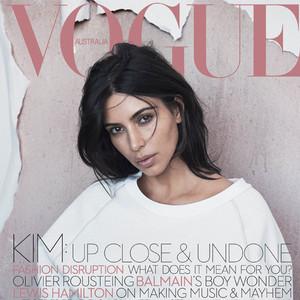 Kim Kardashian, Vogue Australia