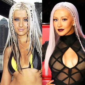 Christina Aguilera, Braids