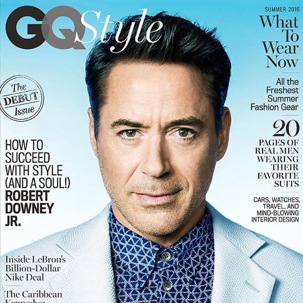 Robert Downey Jr., GQ Style