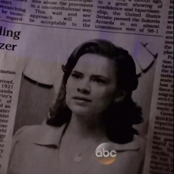 Agents of S.H.I.E.L.D., Agent Carter obituary