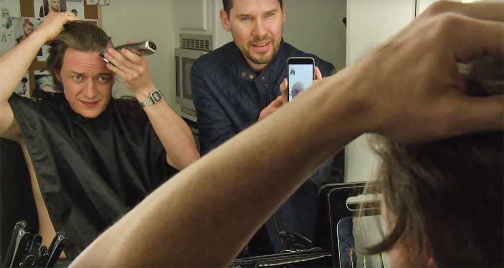 james mcavoy shaves his head for x men apocalypse while patrick james mcavoy bryan singer amp lt i amp gt x