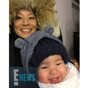 Lucy Liu, Baby Rockwell