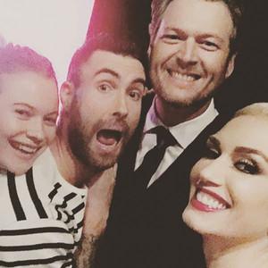 Gwen Stefani, Blake Shelton, Behati Prinsloo, Adam Levine
