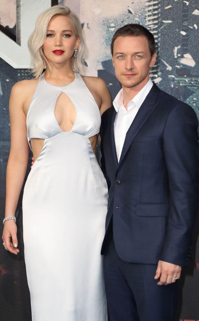 James McAvoy praises Jennifer Lawrences naked body as