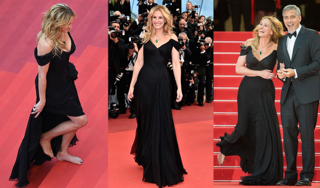 Julia Roberts, Barefoot, Cannes 2016