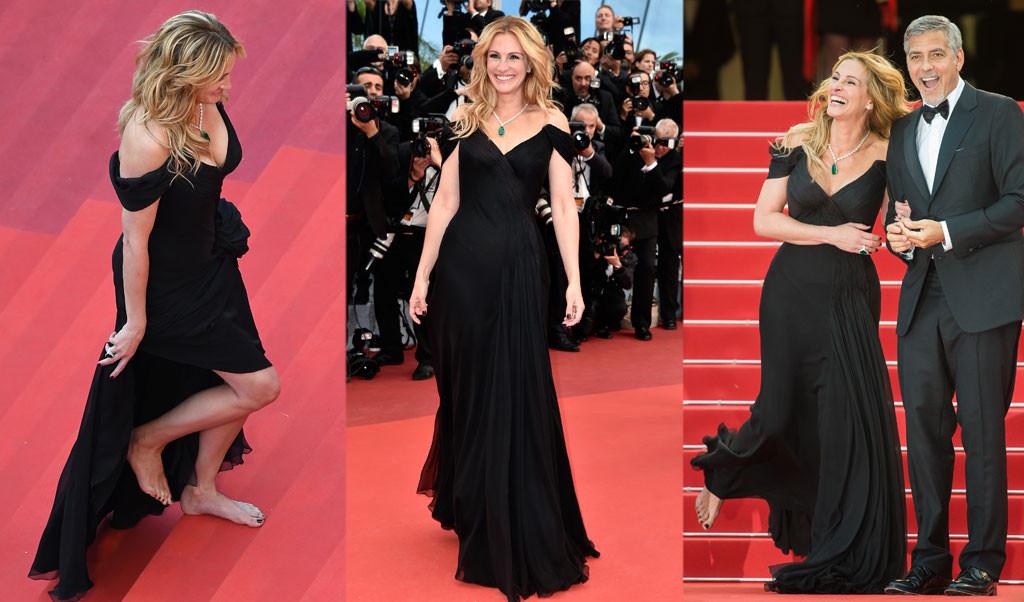 Julia Roberts, Barefoot, Cannes 2016