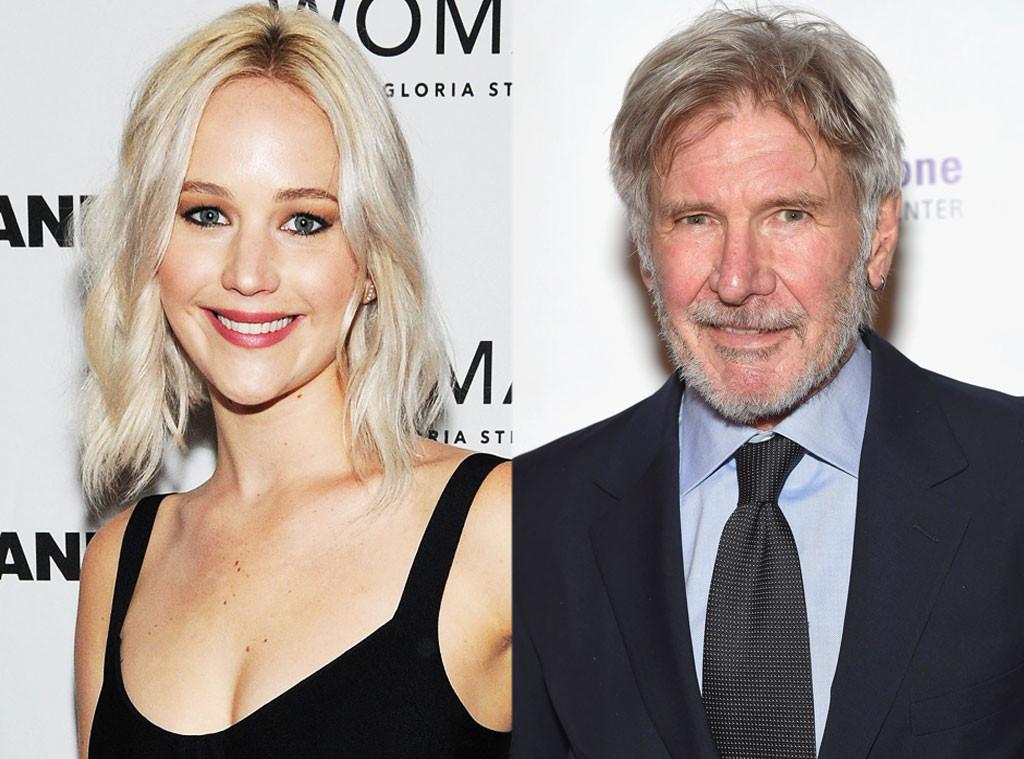 Jennifer Lawrence, Harrison Ford