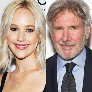Jennifer Lawrence, Harrison Ford