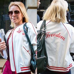 Kelly Ripa, Freedom Jacket