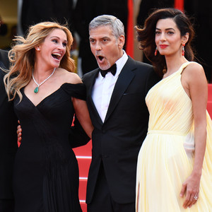 Julia Roberts, George Clooney, Amal Clooney, Cannes 2016