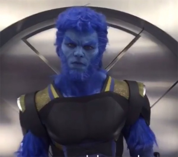 Jennifer lawrence nicholas hoult and other x men apocalypse stars go