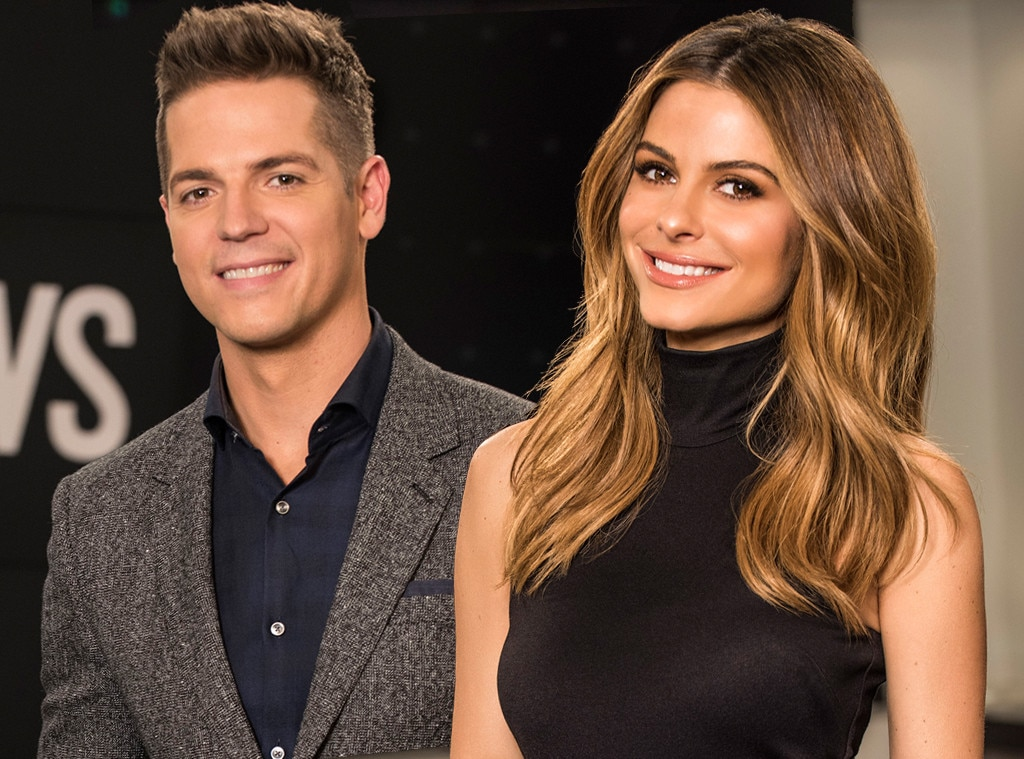 Jason Kennedy, Maria Menounos, E! News