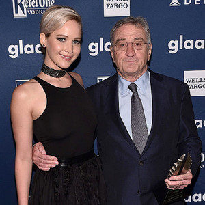 Jennifer Lawrence, Robert De Niro, GLAAD Media Awards 2016