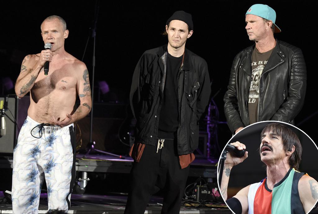Flea, Josh Klinghoffer, Chad Smith, Red Hot Chili Peppers, Anthony Kiedis