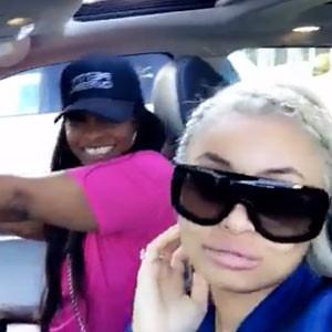 Blac Chyna, Tokyo Toni, Car, Snapchat
