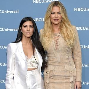 Kourtney Kardashian, Khloe Kardashian, NBCUNIVERSAL 2016 UPFRONT PRESENTATION