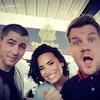 Nick Jonas, Demi Lovato, James Corden