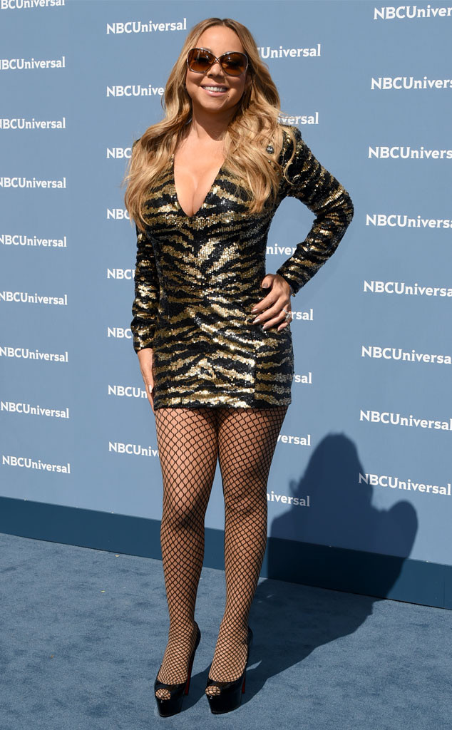 Mariah Carey, NBCUNIVERSAL 2016 UPFRONT PRESENTATION