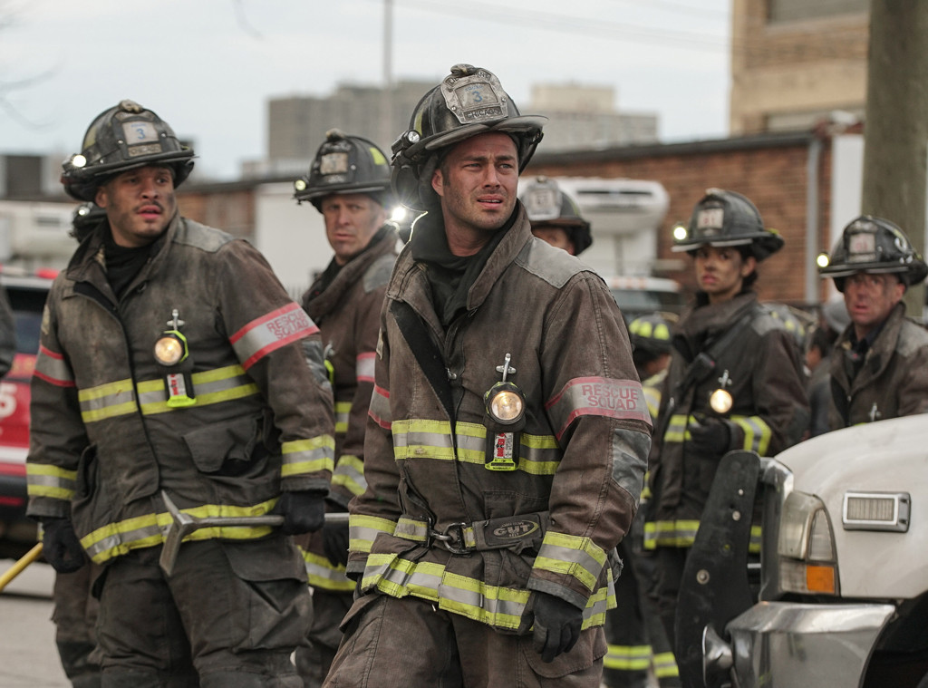 Chicago Fire, Taylor Kinney, Monica Raymund