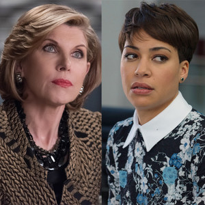 Christine Baranski, Cush Jumbo, The Good Wife