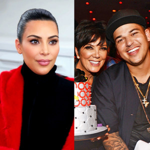 Kim Kardashian, Rob Kardashian, Kris Jenner