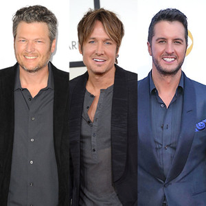 Blake Shelton, Keith Urban, Luke Bryan
