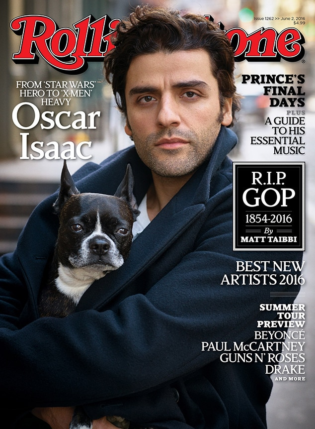 Oscar Isaac, Rolling Stone