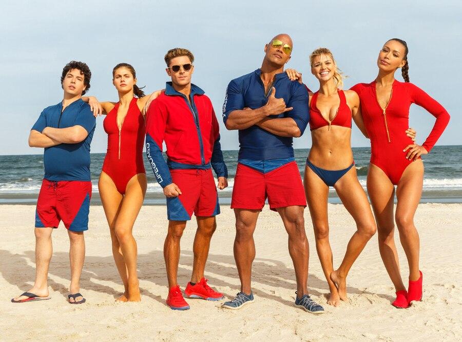 Baywatch Movie Cast