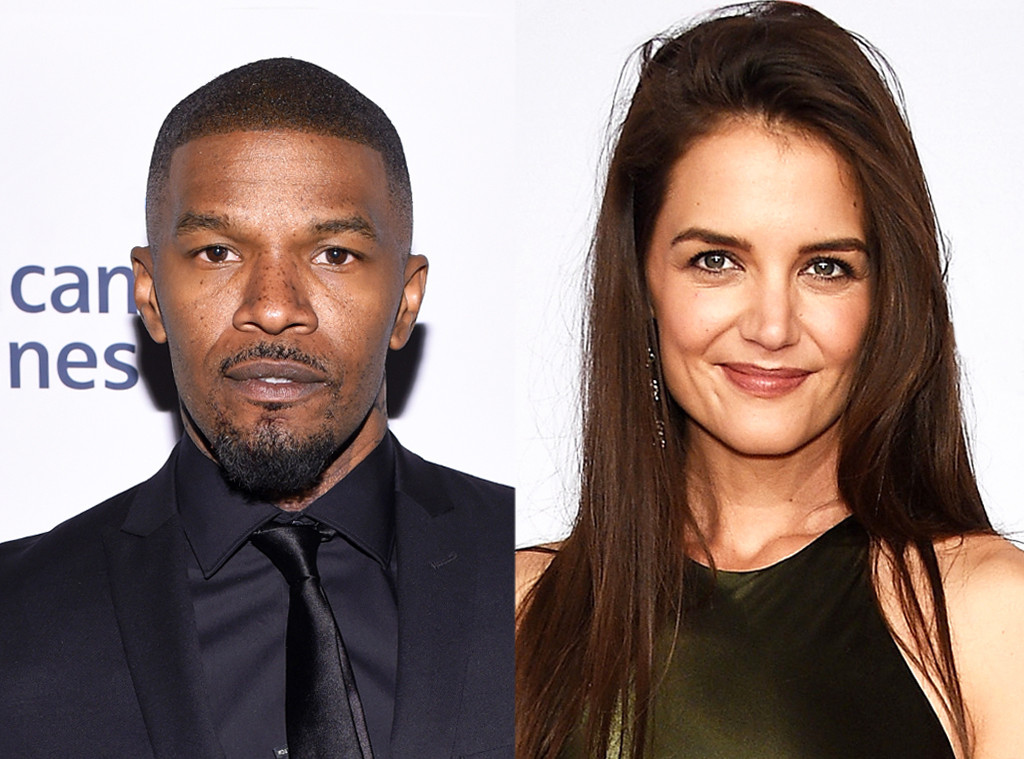 jamie foxx and katie holmes relationship with parents