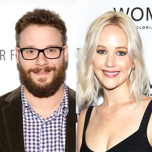 Seth Rogen, Jennifer Lawrence
