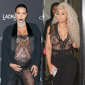 Kim Kardashian, Blac Chyna, Pregnancy Style