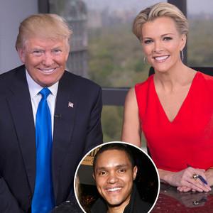 Donald Trump, Megyn Kelly, Trevor Noah