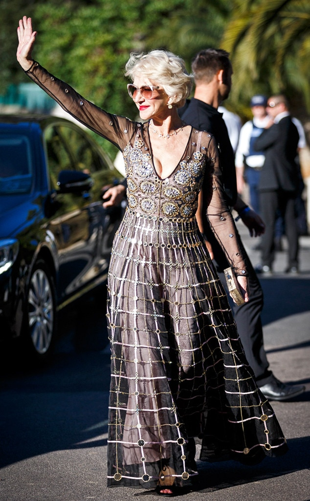 Helen Mirren, Cannes 2016