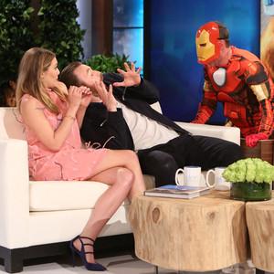 Elizabeth Olsen, Chris Evans, Ellen DeGeneres