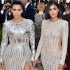 Kim Kardashian, Kris Jenner, Kendall Jenner, Kylie Jenner MET Gala 2016, Arrivals
