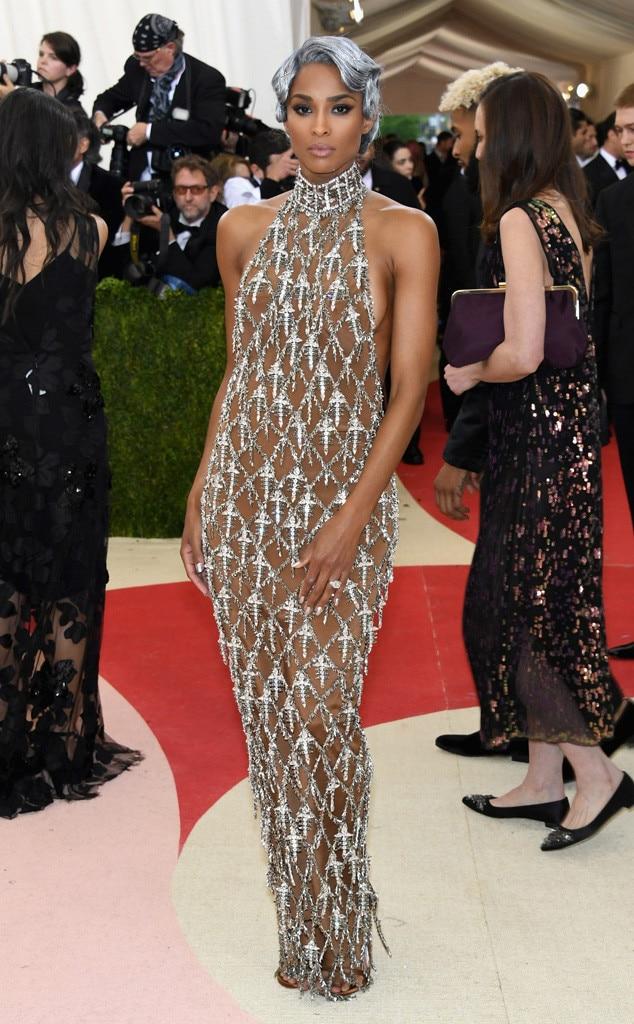 Ciara, MET Gala 2016, Arrivals