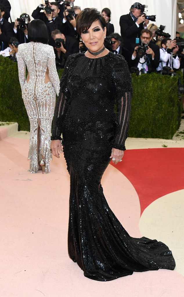 Kris Jenner From Met Gala 2016 Red Carpet Arrivals E News