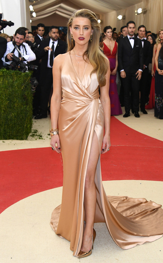 Amber Heard, MET Gala 2016, Arrivals