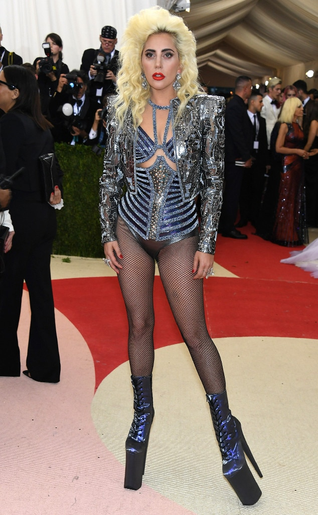 Lady Gaga Just Won the Met Gala 2016 Shoe Game With the ...