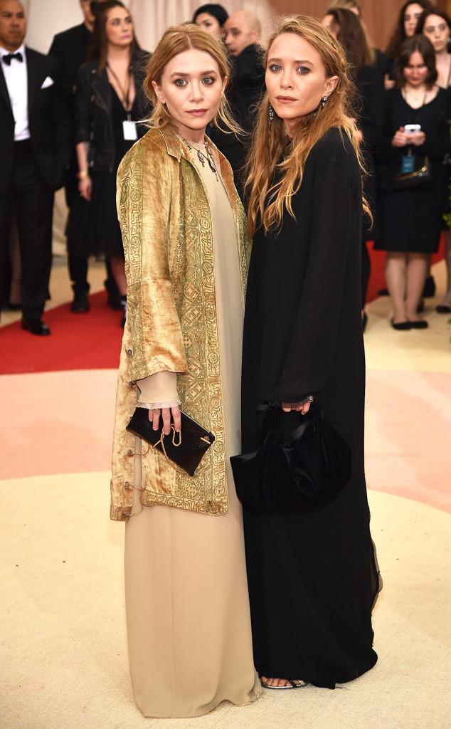 Mary-Kate Olsen, Ashley Olsen, MET Gala 2016, Arrivals, Bff