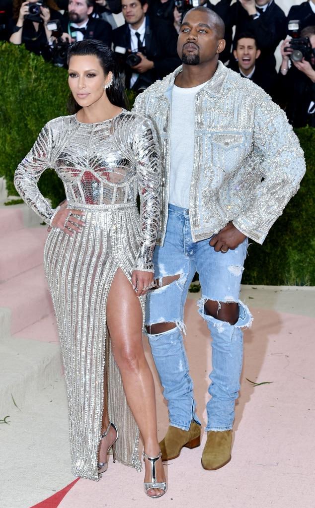 Kanye West, Kim Kardashian, MET Gala 2016, Couples