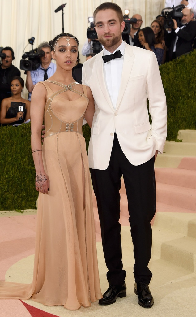 FKA Twigs, Robert Pattinson, MET Gala 2016, Couples