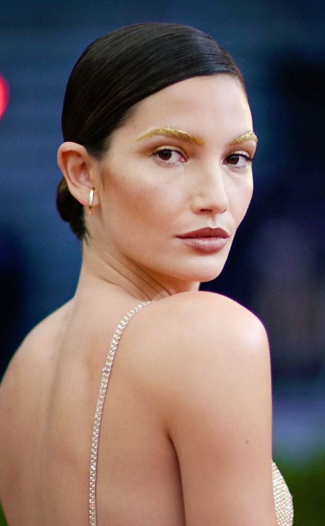 ESC: Met Gala 2016, Beauty, Lily Aldridge