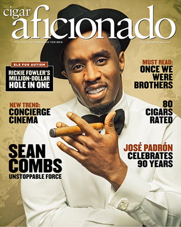Sean Combs, Diddy, Cigar Aficionado