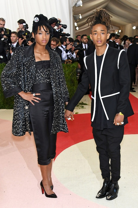 Willow Smith, Jaden Smith, MET Gala 2016, Arrivals, Bff